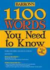 1100 Words You Need to Know by Murray Bromberg, Melvin Gordon (Paperback, 2013)