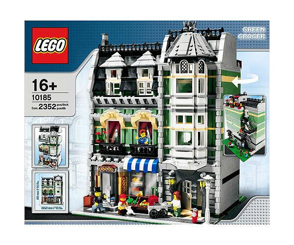 lego creator green grocer 10185 ebay. Black Bedroom Furniture Sets. Home Design Ideas