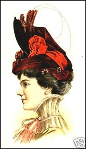 MILLINERY-18-Old-Books-on-CD-HATS-and-HAT-MAKING-Antiquarian-Book-Collection