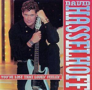 DAVID-HASSELHOFF-YOU-039-VE-LOST-THAT-LOVIN-039-FEELIN-039-CD