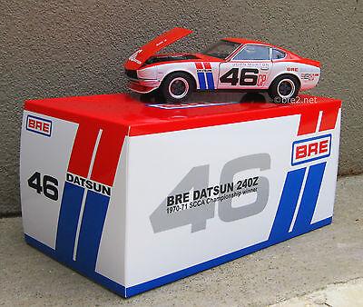 1:18 Scale Kyosho BRE Datsun 240z Die-Cast Model sold by Peter Brock BRE!