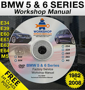 bmw 5 series e39 service manual