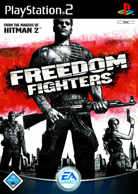 Freedom Fighters (Sony PlayStation 2, 2003, DVD-Box)