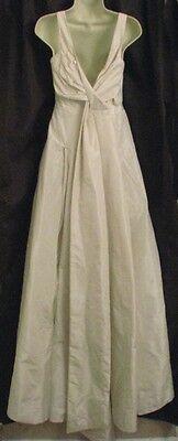 $1100 J Crew Silk Taffeta Tatum Wedding Dress Gown ivory size 4 NEW
