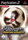 Pro Evolution Soccer Management (Sony PlayStation 2, 2006, DVD-Box)