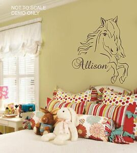 Western Horse Wall sticker vinyl Decal