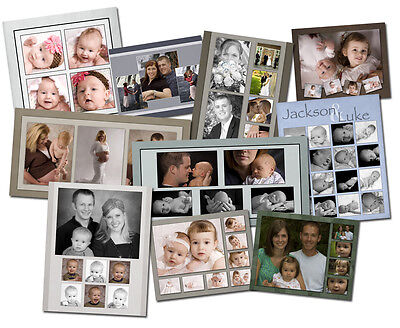 20 Photoshop Photo Collage Design Template Collection 2