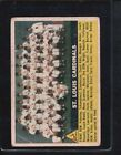1956 Topps Team #134 Baseball Card
