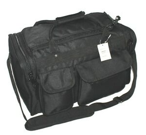 20-034-Large-Black-SWAT-Police-Duffle-Duty-Padded-Bag-Range-Pistol-Gun-Hunting