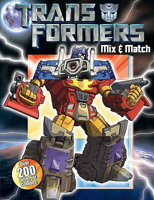 Transformers Mix & Match (Transformers (Reader's Digest))-ExLibrary
