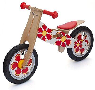 Kidzmotion 'Sweet Pea' Wooden Balance Bike / first bike / running bike ex-demo