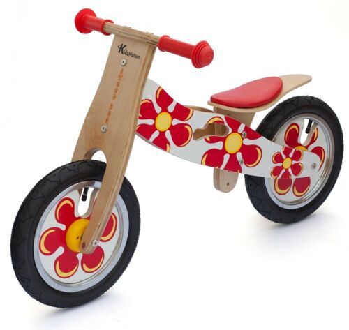 Kidzmotion 'Sweet Pea' Wooden Balance Bike / first bike / running bike ex-demo