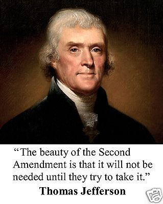Thomas Jefferson Founding Fathers U.S. Quote 8 x 10 Photo Picture #s1