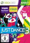 Just Dance 3 (Microsoft Xbox 360, 2011, DVD-Box)