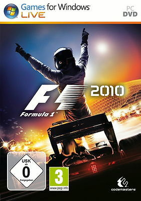 F1 2010 (PC, 2010, DVD-Box)