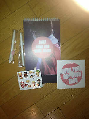 shinee key kibum kimkey 2013 calendar set sticker cd ballpen set