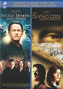 Angels And Demons The Davinci Code Double F New DVD Picture 2 Of Stock Photo