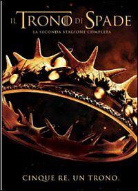 DVD-Il-Trono-di-Spade-HBO-Seconda-Stagione-Completa-5-DISCHI-ITALIANO