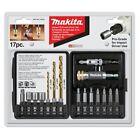 Makita T-00153 17 Piece Impact Driver Drill Accessory Set (088381940580)