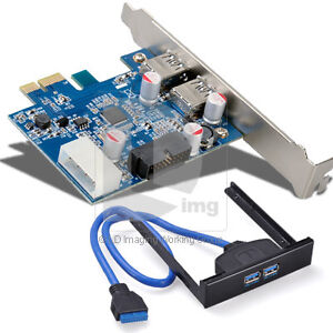 PCI-Express-4-Port-PCI-E-To-2-USB-3-0-Controller-Card-Adapter-Hub-5Gbps-Hi-Speed