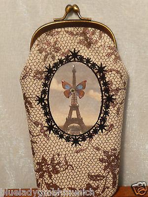Brillenetui ✿ Tour Eiffel ✿ CAKES DE BERTRAND spectacle case étui à lunettes