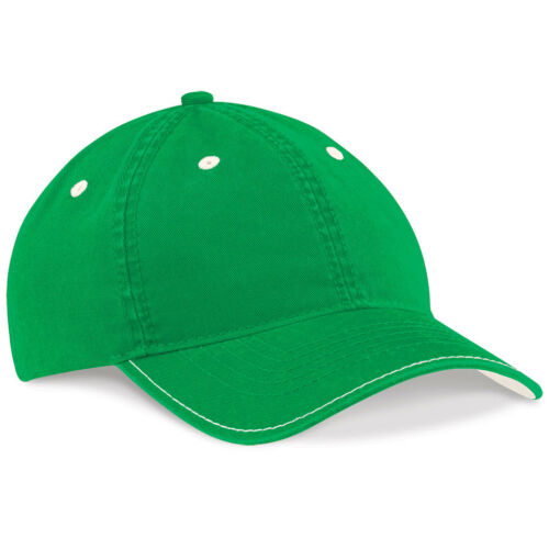Beechfield Vintage RED GREY GREEN or BLUE Low Profile Fashion Baseball Hat Cap