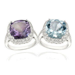 925-Silver-Amethyst-or-Blue-Topaz-Cocktail-Ring