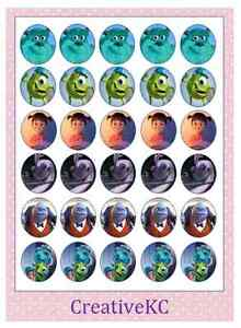 Monsters Inc Edible Cake Decorations