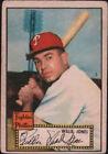 1952 Topps Willie Jones Philadelphia Phillies #47 Baseball Card