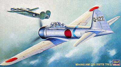Hasegawa JT18 MITSUBISHI A6M3 ZERO TYPE 32 (ZEKE) 1/48 scale kit
