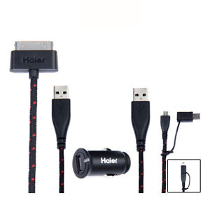 Haier-Audio-Apple-Certified-Micro-Mini-Car-Charger-for-iPad-iPhone-Android