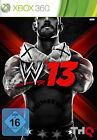 WWE '13 (Microsoft Xbox 360, 2012, DVD-Box)