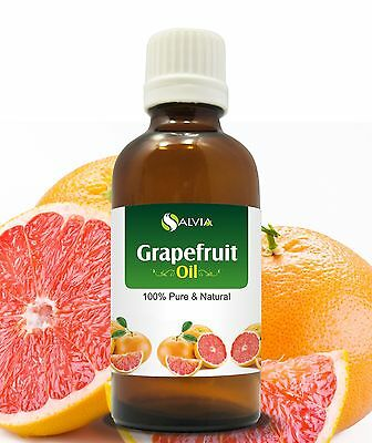 GRAPEFRUIT OIL 100% NATURAL PURE UNDILUTED UNCUT ESSENTIAL OIL 5ML TO 100ML