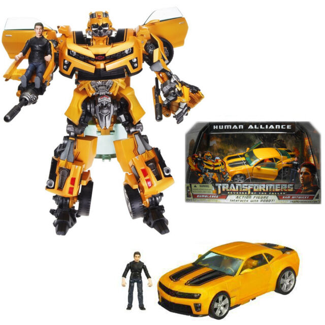 Transformers ROTF Human Alliance Bumblebee with Sam NEW IN BOX QUICK SHIPPING