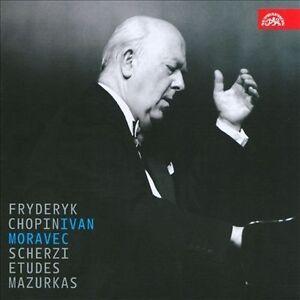 Chopin-Scherzi-Etudes-Mazurkas-Ivan-Moravec-Audio-CD-New-FREE-amp-FAST-Deli