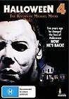Halloween 4 - The Return Of Michael Myers (DVD, 2012)