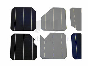100-MONO-Crystalline-6x6-Solar-Cells-CHIPPED-CORNERS-for-DIY-Solar-Panel-156mm