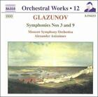 Alexander Glazunov - Glazunov: Symphonies 3 & 9 (1999)