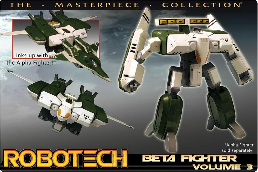 Robotech Beta Masterpiece - Lunk Vol.3 Grün Tread MIB NEW - Slight Damage Box