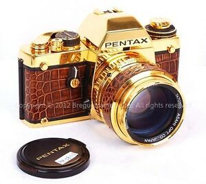 Rare-PENTAX-LX-w-50mm-f-1-2-special-gold-edition-limited-to-300-sets-HK3823