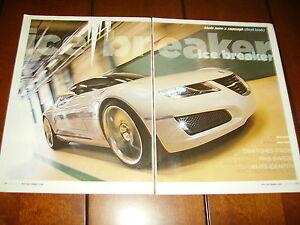 2006 SAAB AERO X CONCEPT CAR ***ORIGINAL ARTICLE***