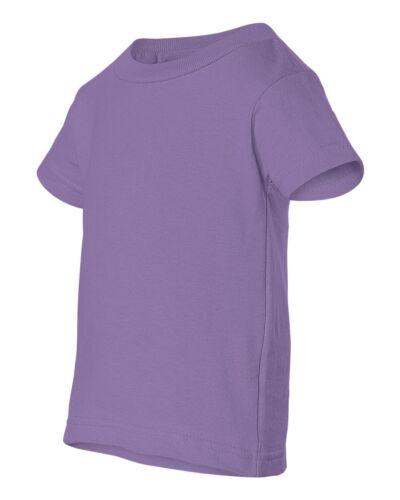 Infant Short Sleeve 100/% Cotton T-shirts Size 6M 12M 18M 24M 3401 Rabbit Skins