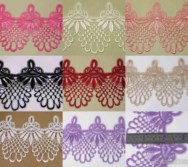 3 Yards 16 cm Polyester Venise Lace Fringe Embellishment Sewing Applique Trims