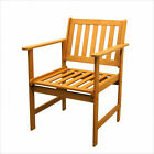 "International Royal Tahiti Gulf Port Arm Chair - Set of 2 (Stain) (34""H x 26""W x 24""D) (TT1B006)"