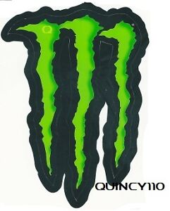 monster energy kralle aufkleber sticker 7 x 11 cm neu. Black Bedroom Furniture Sets. Home Design Ideas