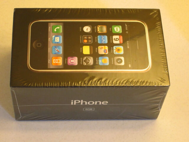 **RARE COLLECTORS VINTAGE BOX SET**  Apple iPhone 1st Gen 8GB 1G 2G  STUNNING
