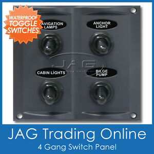 4 gang switch panel wiring diagram 4 image wiring 4 gang waterproof toggle switch panel 15a blade fuses on 4 gang switch panel wiring