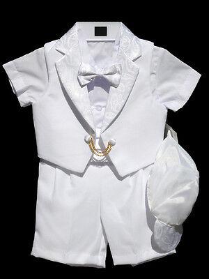 Infant Toddler Boy,Christening Baptism Outfit Set, Sz: S, M, L, XL, 2T,3T,4T