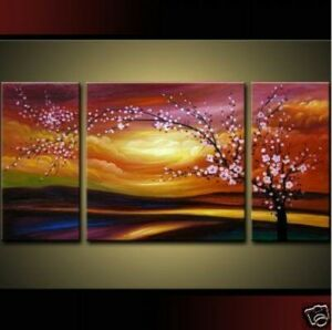 Pure-hand-drawn-MODERN-ABSTRACT-HUGE-WALL-ORNAMENTS-CANVAS-OIL-PAINTING