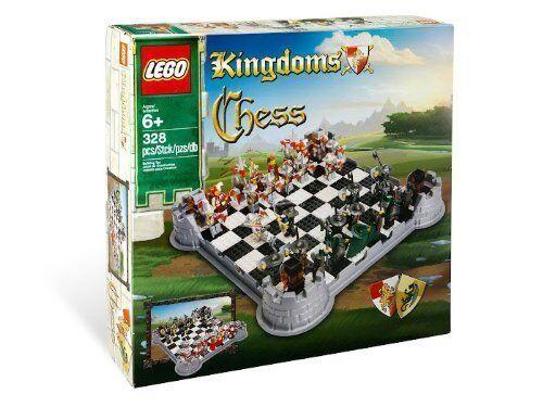 LEGO CASTLE KINGDOMS SET CHESS 853373 NEW RETIROT